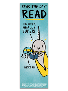 Narwhal and Jelly Bookmark