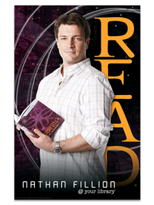Image for Nathan Fillion Poster