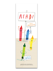 Image for Never Quit Reading Bookmark