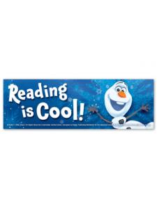 Image for Olaf Reading is Cool Bookmark