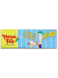 Image for Phineas and Ferb Bookmark
