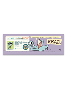 Image for Pigeon's License Bookmark