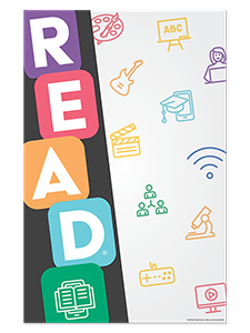 Image for READ® Color Block Poster File