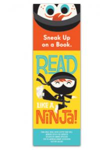 Image for Read Like a Ninja Bookmark