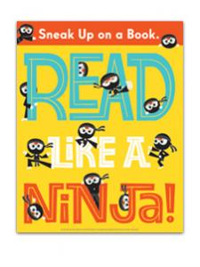 Image for Read Like a Ninja Poster