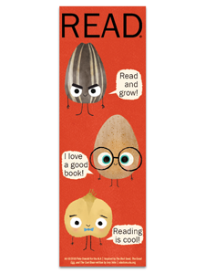 Reading is Cool Beans Bookmark