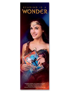 Image for Reading is a Wonder Bookmark