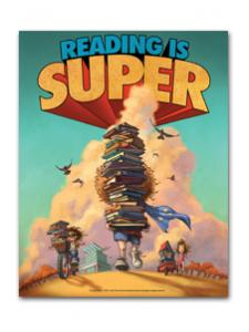 Image for Reading is Super Mini Poster