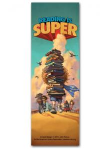 Image for Reading is Super Bookmark