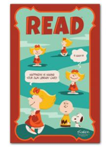 Image for Sally Library Card Poster