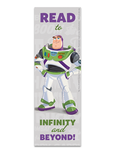 Toy Story Buzz Bookmark