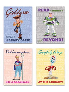 Toy Story Mini Poster Set