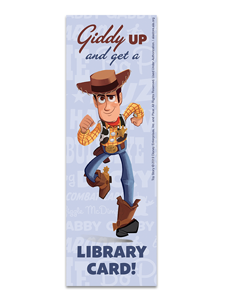 Image for Toy Story Woody Bookmark