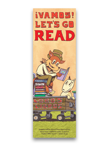 Vamos! Let's Go Read Bookmark