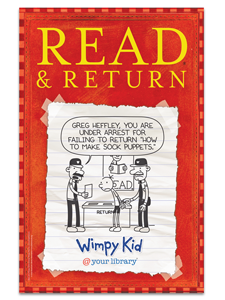 Image for Wimpy Kid Returns Poster