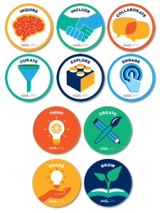 Image for AASL Standards: 10-Cling Set