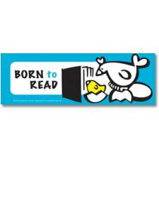 Image for Born to Read Chick Bookmark