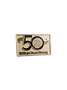 Image for CSK 50th Anniversary Pin