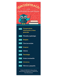 Image for Dewey® Kids Spanish Bookmark