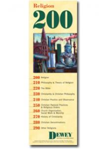 Image for Dewey Series 200 Bookmark