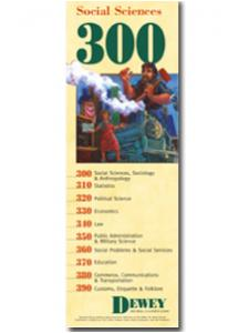Image for Dewey Series 300 Bookmark
