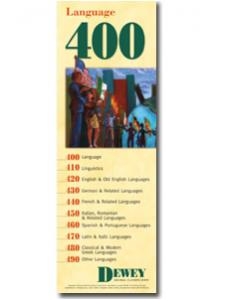 Image for Dewey Series 400 Bookmark