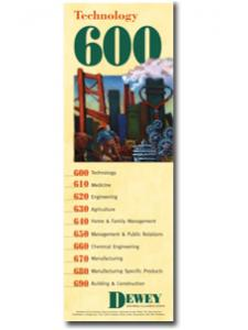 Image for Dewey Series 600 Bookmark
