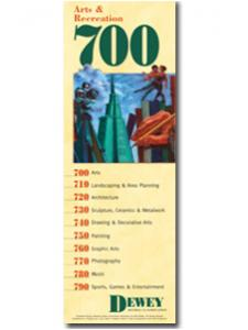 Image for Dewey Series 700 Bookmark