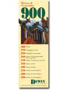 Image for Dewey Series 900 Bookmark