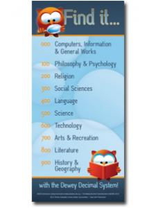 Image for Dewey® Find It Kids Bookmark