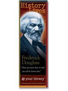 Image for Frederick Douglass History Lives Bookmark