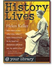Image for Helen Keller History Lives Poster