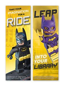 Image for LEGO® Batman and Batgirl Bookmark