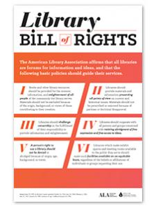 Image for Library Bill of Rights Poster