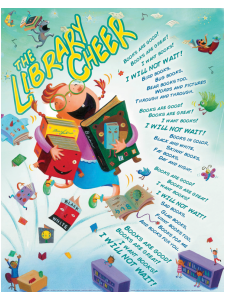 Image for Library Cheer Poster