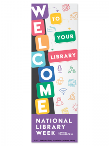 Image for 2021 National Library Week Bookmark