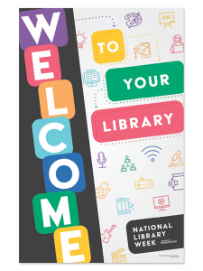 Image for 2021 National Library Week Poster