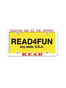 Image for READ License Plate Holder