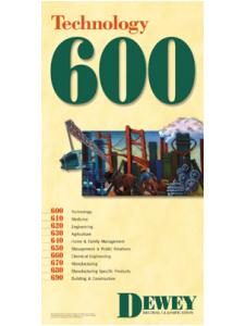 Image for Dewey Series 600 Poster
