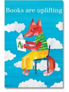 Image for Books are Uplifting Poster
