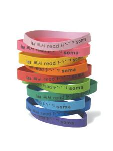 Image for Multilingual READ Wristbands