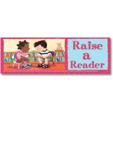 Image for Raise a Reader Bookmark