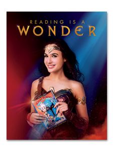 Image for Reading is a Wonder Poster