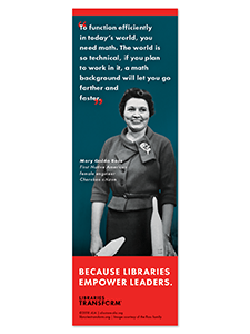 Image for Ross Libraries Transform Bookmark