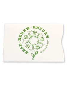 Image for Read Renew Return Card Sleeves