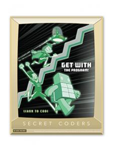 Image for Secret Coders Poster