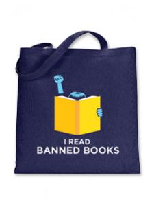 Image for I Read Banned Books Tote
