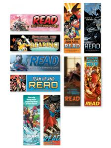 Image for DC Comics Superhero Bookmark Set