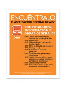 Image for Dewey® Class Signs (Spanish)