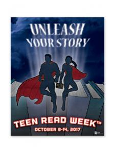 Image for 2017 Teen Read Week Poster